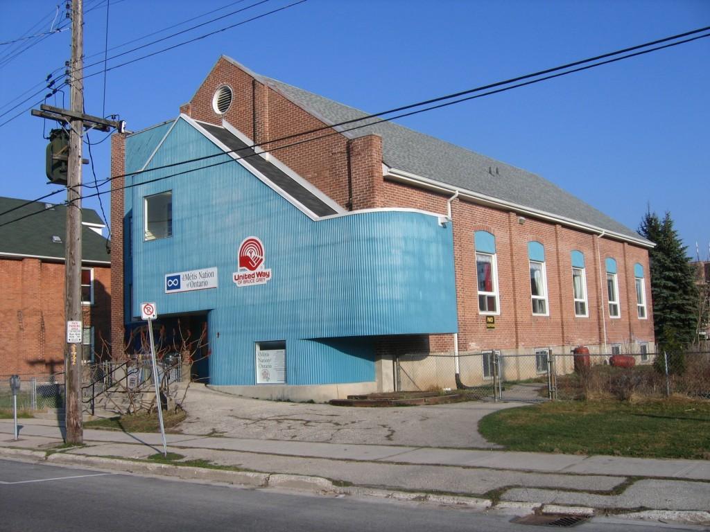 Exterior of building 015