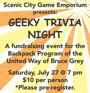 Scenic City Game Emporium presents Geeky Trivia Night