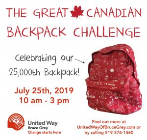 Great Canadian Backpack Challenge
