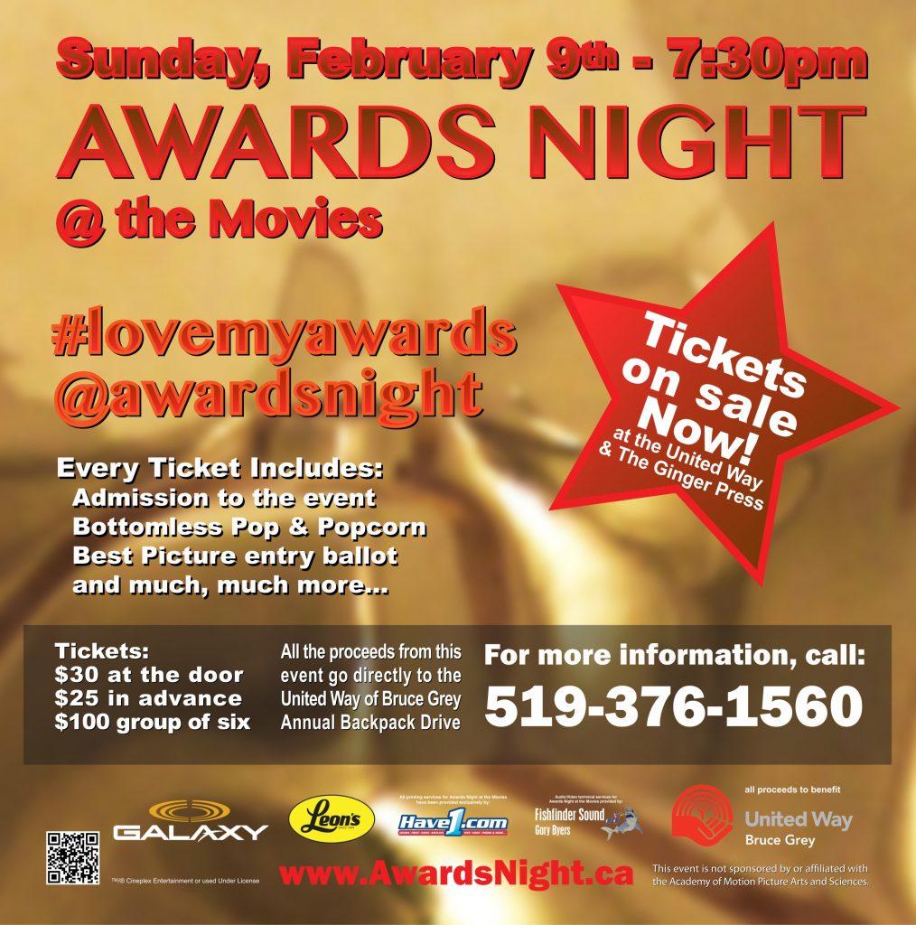 Awards Night At The Movies 2020