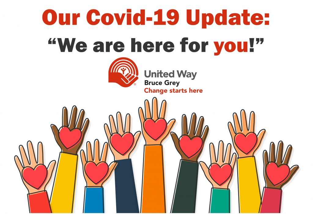 We are here for you during the Covid-19 pandemic.
