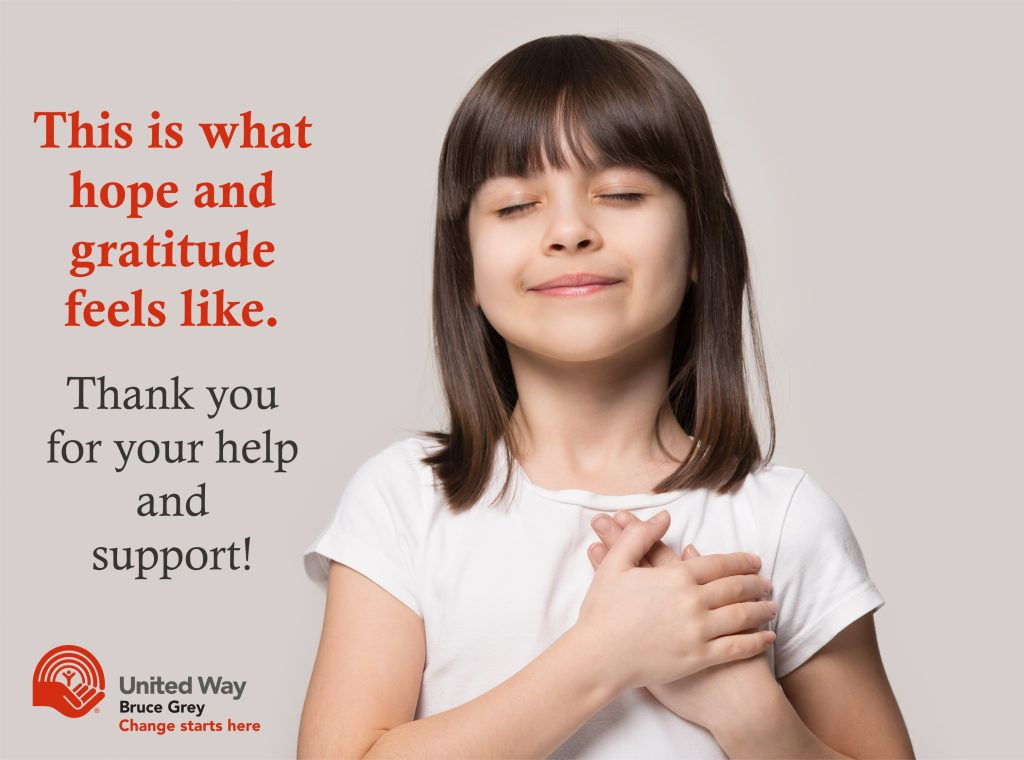 Thank you to our donors and volunteers for making a huge difference during Covid-19.