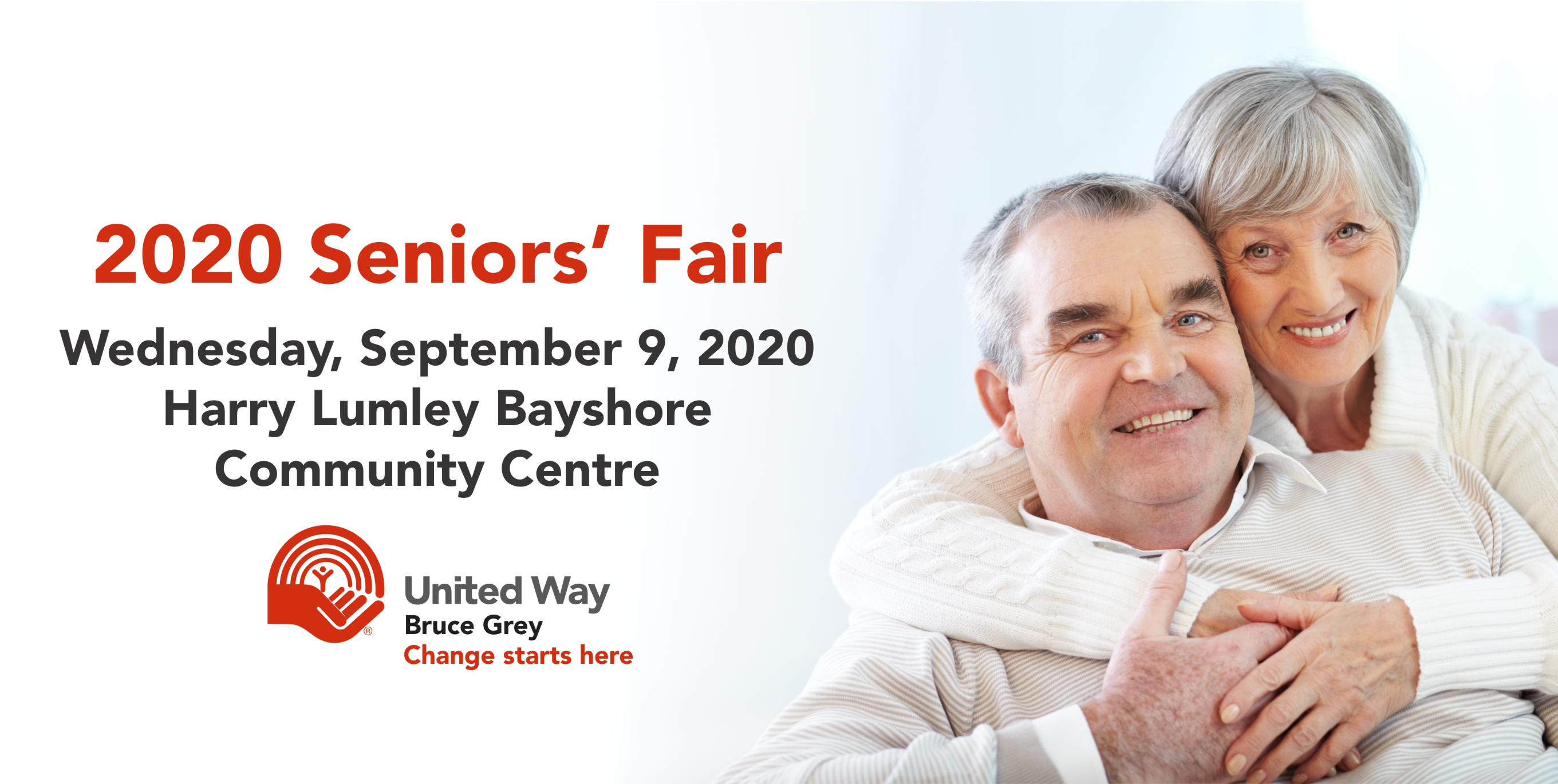 Please join us for our 2020 Seniors' Fair on Wednesday, September 9, 2020