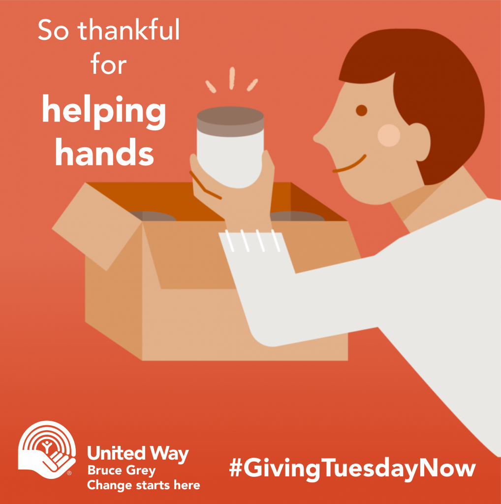 Today is #GivingTuesdayNow.